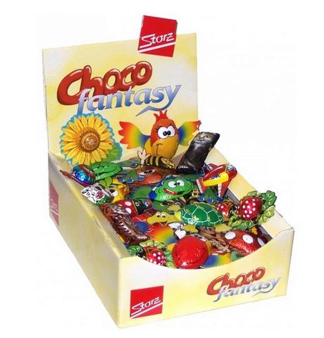 Storz - Caixa Com 50 Figurinhas Sortidas De Chocolate!