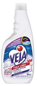 Delivery 30% Off: Limpador para Banheiro VEJA X 14 Tira Limo Cloro Ativo Refil 500ml!