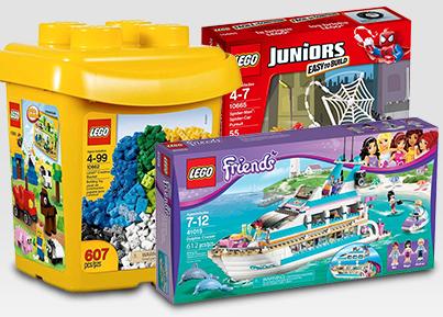 LEGO com 10% de desconto!