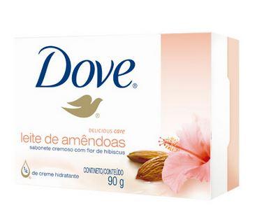 Sabonete Dove Delicious Leite de Amêndoas 90g!