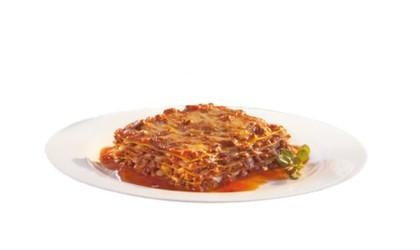 Lasagna de vários sabores no Spoleto Shop. Metrô Santa Cruz