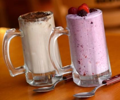 Milk Shake de vários sabores: Pague 1 e leve 2 por R$14,90!