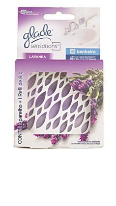 30% Off: Odorizador de Ambientes GLADE Sensations para Banheiro c/ 1 Aparelho + Refil 8g!