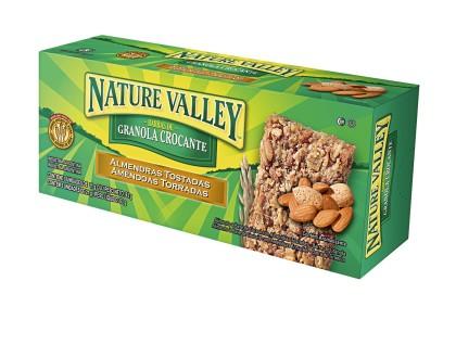 30% Off: Cereal em Barra NATURE VALLEY Amêndoas Torradas 63g Caixa com 3 Unidades!