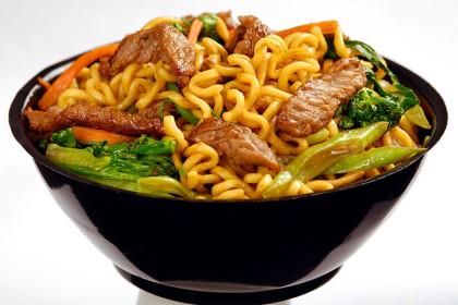Delivery: Yakissoba de Carne / Frango!