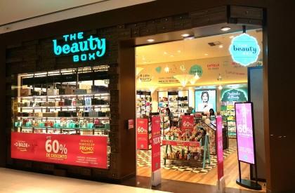 Lojas Físicas: 20% OFF extra em toda a linha de produtos The Beauty Box (marca própria)