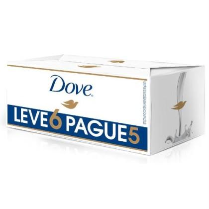 30% OFF: Sabonete DOVE 90g Leve 6 Pague 5 Unidades