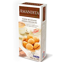 30% OFF: Biscoito Wafer AMANDITA 200g