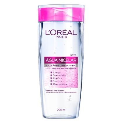 15% de desconto: Dermo L'Oréal Expertise Água Micelar 5 em 1 200ml!
