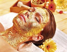 GRÁTIS: Higienização Facial + Drenagem + Peeling de Diamante + Máscara de Ouro