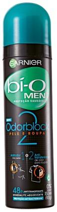 20% de desconto: Desodorantes Aerosol GARNIER Bí-o Masculino 150ml!
