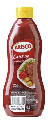 30% de desconto: Catchup Tradicional ARISCO 390g!