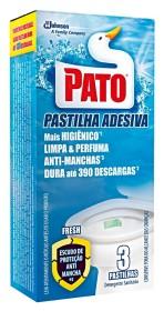 30% de desconto: Desodorizador de Sanitário PATO Pastilha Adesiva Fresh com 3 Unidades!