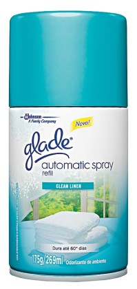 30% de desconto: Odorizador de Ambientes GLADE Automatic Spray Refil 269ml!