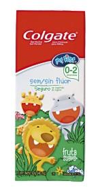 30% de desconto: Creme Dental COLGATE Kids sem Fluor Fruta Suave 50g!
