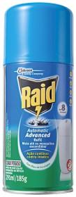 30% de desconto: Inseticida Automático RAID Advanced Eucalipto Refil 185g!