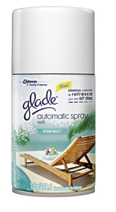 30% OFF: Odorizador de Ambientes GLADE Automatic Spray Refil 269ml!