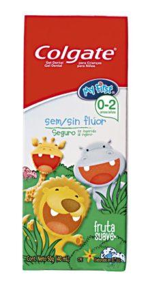 30% OFF: Creme Dental COLGATE Kids sem Fluor Fruta Suave 50g!