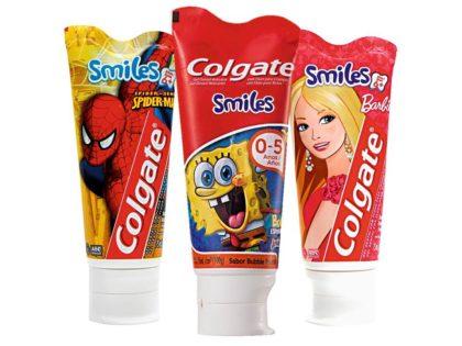 30% OFF: Creme Dental Infantil COLGATE vários tipos 100g!
