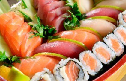 Jantar: Delicioso Rodízio Japonês tradicional para 1 pessoa
