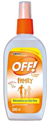 30% Off: Repelente Spray Refrescante OFF! 200ml!