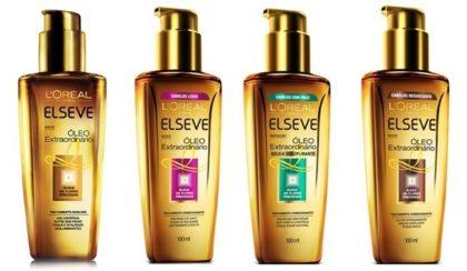 20% Off: Óleo ELSEVE Extraordinário para vários tipos de cabelos 100ml!