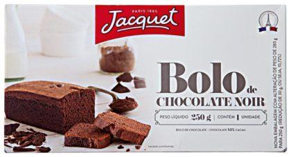 Bolo de Chocolate Tipo Browine com Pedaços de Chocolate ou Avelã JACQUET 245g!
