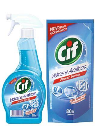 Kit CIF VIDROS Gatilho e/ou Refil econômico!