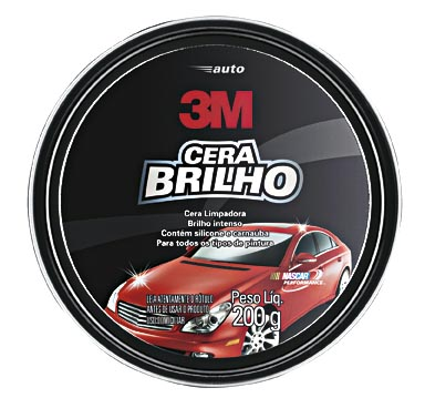 30% Off: Cera Limpadora para Automóveis 3M!