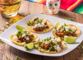 Rodízio Mexicano completo com 35% de desconto todos os dias