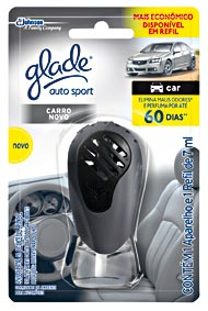 Odorizador de Ambientes GLADE Auto Sport 7ml!