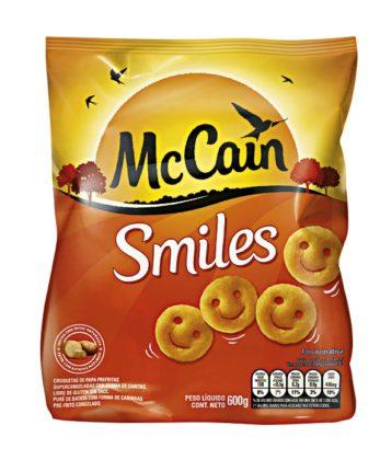 30% OFF: Batata Congelada MCCAIN Smiles Pacote 600g!