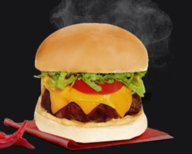 Combo Burger Volcano + Fritas + Taça Melts 2×1: Pague 1 e leve 2 por R$57
