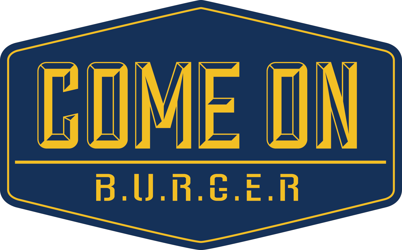 Logo Come On Burger
