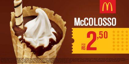 McColosso por apenas R$2,50
