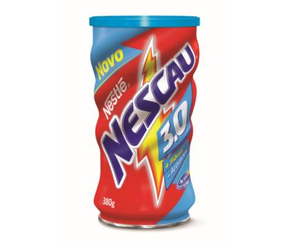 NOVO NESCAU 3.0! Menos açúcares, mais fibras, o sabor de NESCAU. EXPERIMENTE!