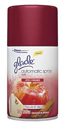 Odorizador de Ambientes GLADE Automatic Spray vários tipos Refil 269ml!