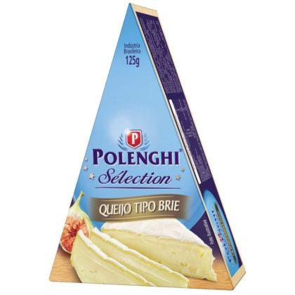 Queijo Brie Triangular POLENGHI 125g!