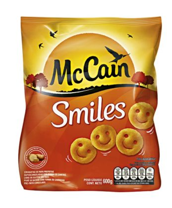 50% OFF: Batata Congelada MCCAIN Smiles Pacote 600g