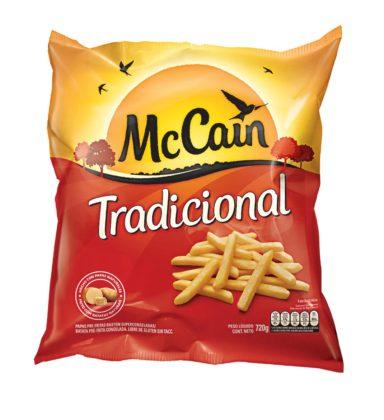 Batata Congelada MCCAIN Corte Tradicional Pacote 720g!