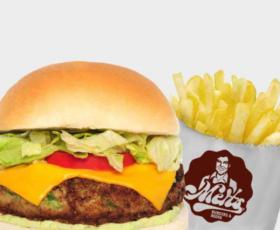 Alabama Burger + Batata individual com 30% de desconto!