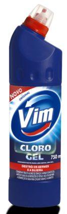 30% de desconto: Cloro Gel VIM 750ml! Vários tipos