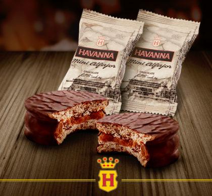 Mini Alfajor de Chocolate: LEVE 2, PAGUE 1