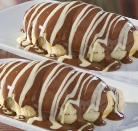 Croasonho de Chocolate Preto e Branco tamanho M: PAGUE 1 E LEVE 2