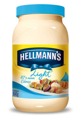 Maionese Light HELLMANN'S Pote 500g!