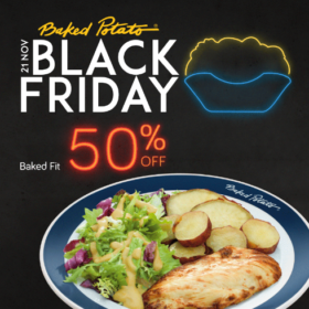 Black Friday: 50% OFF no Baked Fit (SOMENTE 21/11)