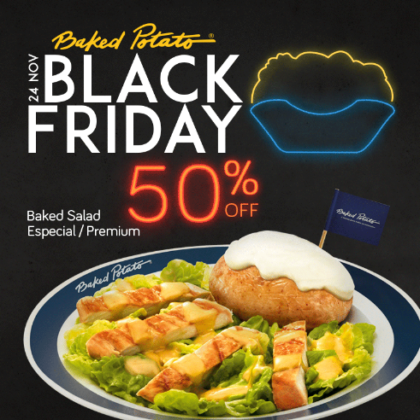 Black Friday: 50% OFF na Baked Salad Especial / Premium (SOMENTE 24/11)