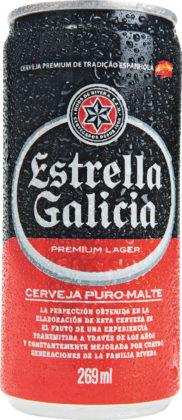 50% OFF na 2ª unidade: Cerveja Estrela Galícia 269ml! APENAS NOS DIAS 18, 19 E 20/11