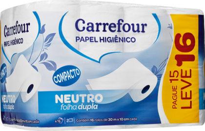 20% OFF: Papel Carrefour L16P15! APENAS NOS DIAS 18, 19 E 20/11