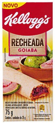 Cereal em Barra Recheada KELLOGG'S Goiaba 75g com 3 Unidades!